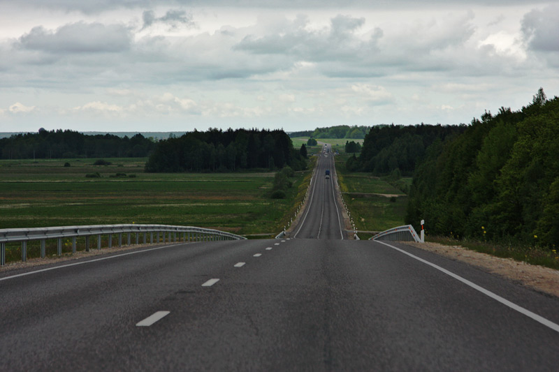 Major road in Lithuania