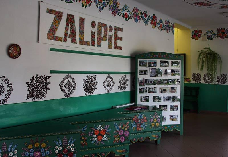 in village Zalipie