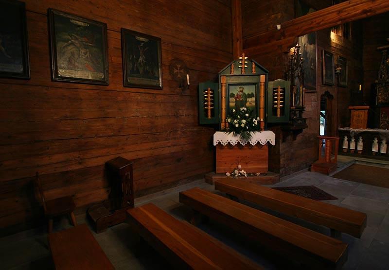 wooden church in Sekowa