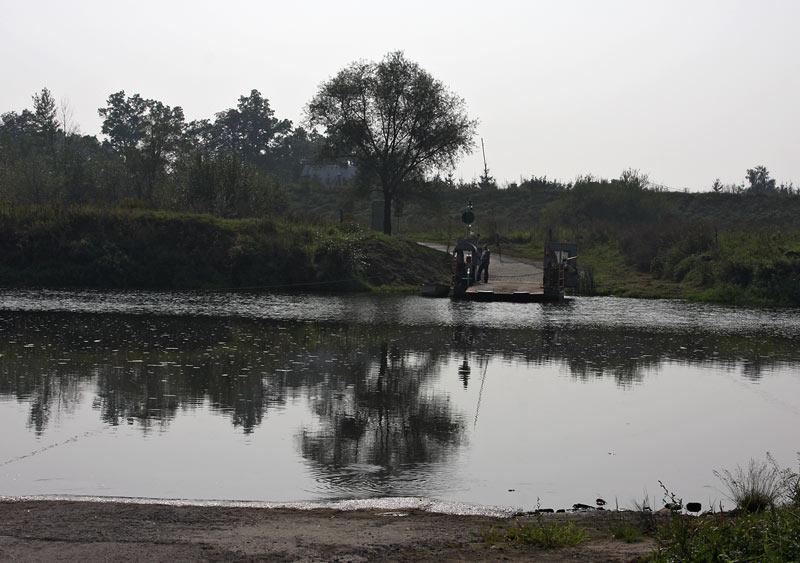 Wisla near Jaziorzany