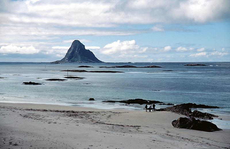 bird island near Bleik