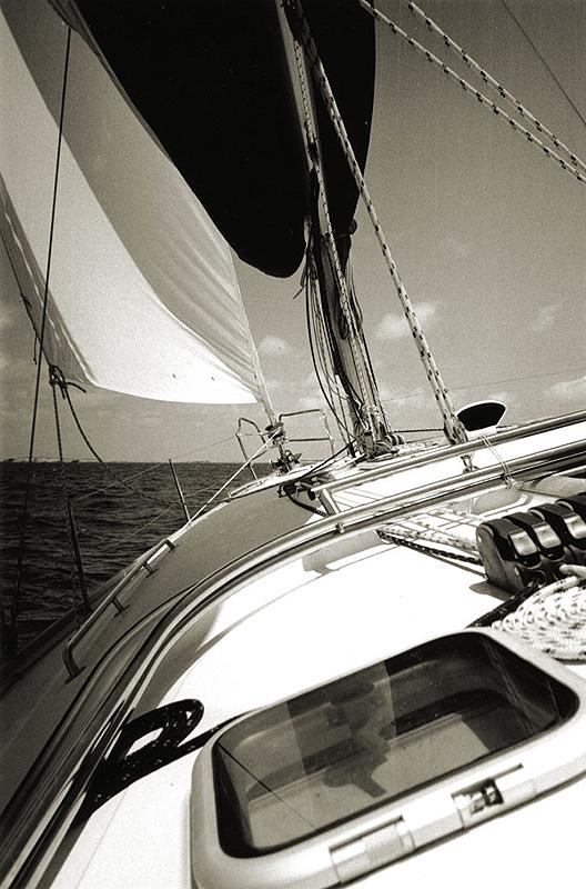 Sailboat, Anguilla, 2011.