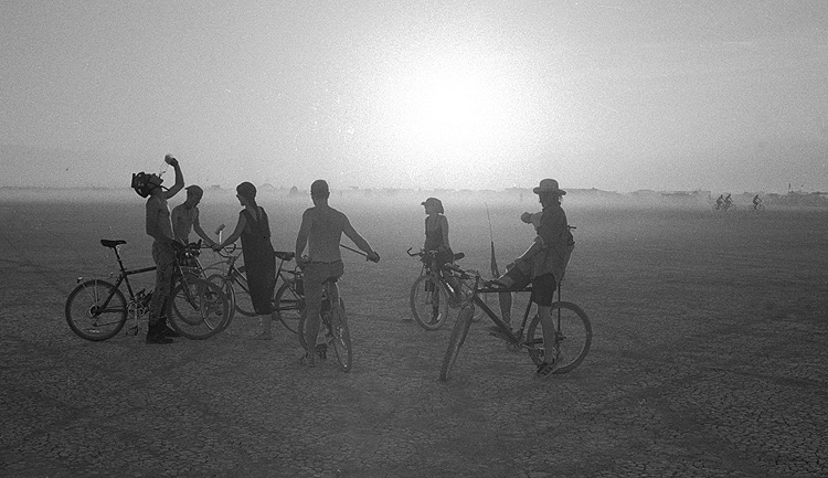 Late afternoon, Burning Man 96