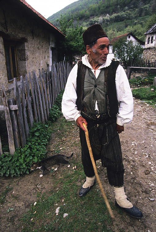 Croatian man in Miletici