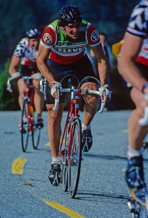Eric Heiden, Pinkys Road Race, 1984
