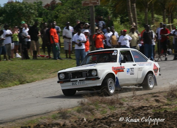 Rally Barbados 2009 - Simon Michael, Jonathan Foster