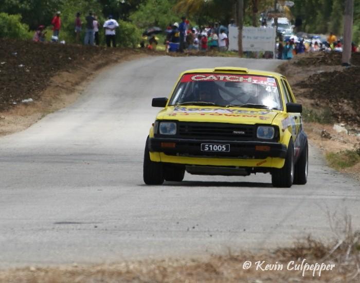 Rally Barbados 2009 - Karl Waterman, Matthew Staffner