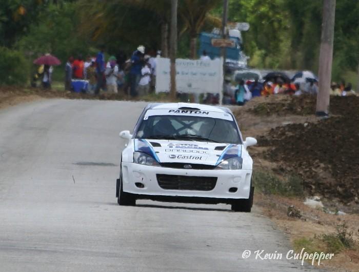 Rally Barbados 2009 - Jeffrey Panton, Mike Fennell Jnr