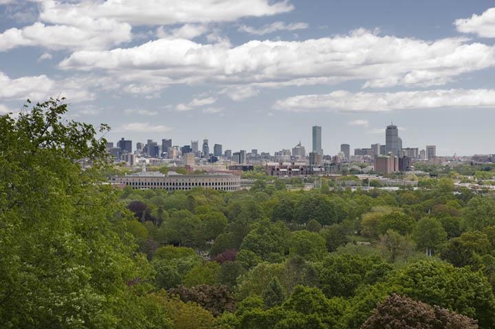 Boston from Mt. Auburn, Cambridge