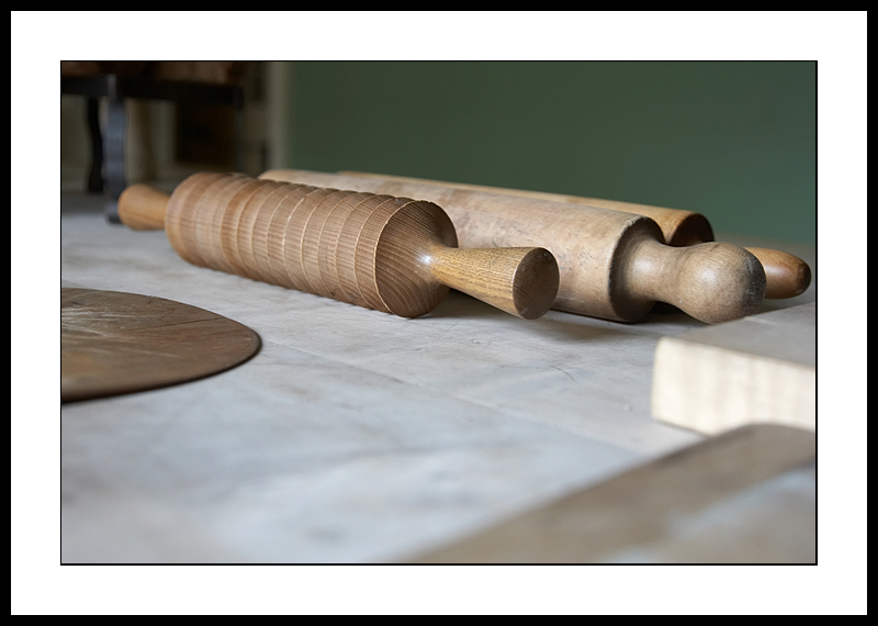 Old rolling pins