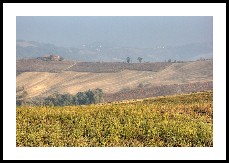 Lombardy hills