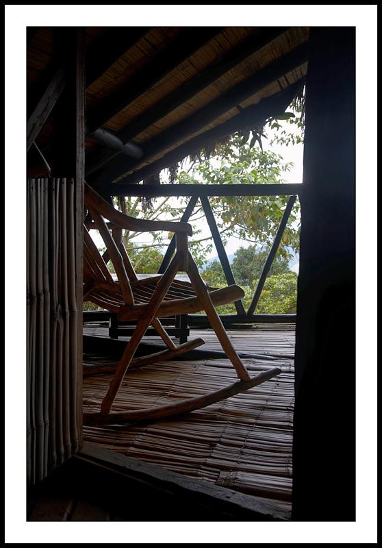 Treetop balcony
