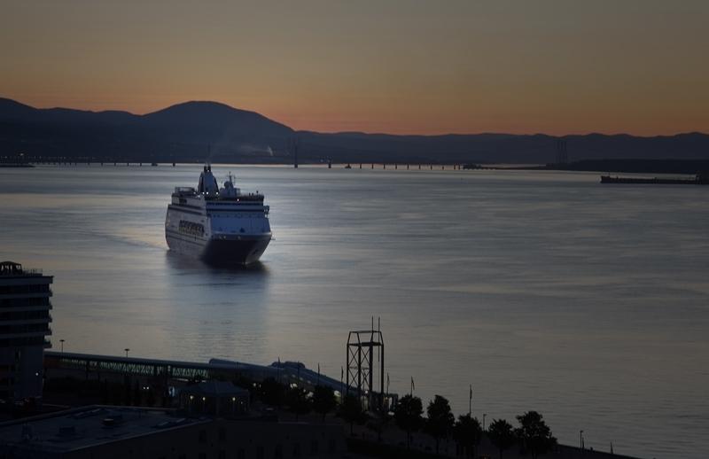 QC harbour at dawn