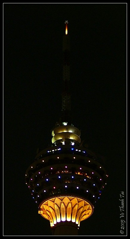 KL Tower (night)