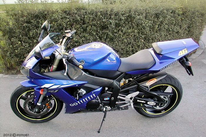 #021 Yamaha R1 (ready to ride)