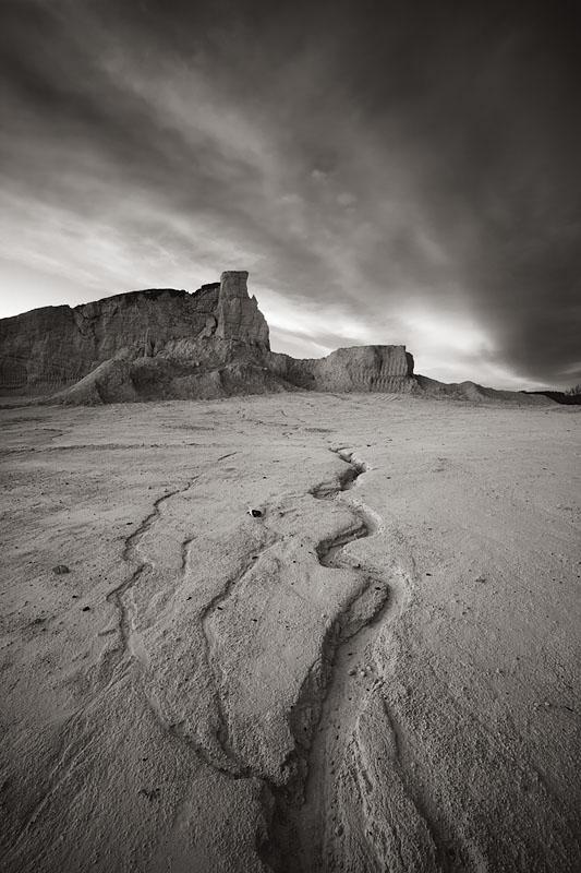 Barren landscape II