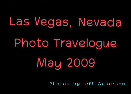 Las Vegas, Nevada cover page.