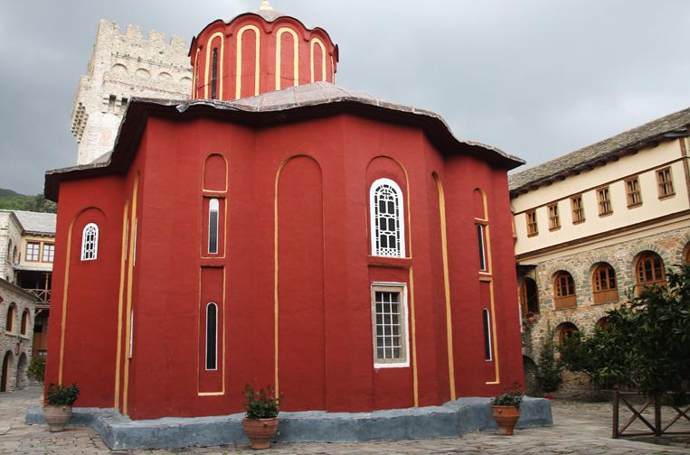 Katholikon-Karakallou Monastery