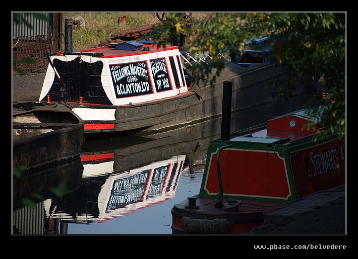 Canal Reflections, Black Country Museum