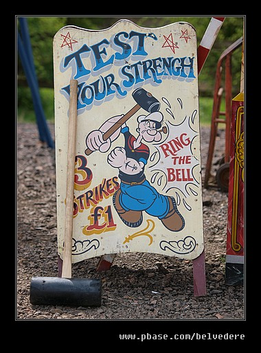 Fun Fair Sign #3, Black Country Museum