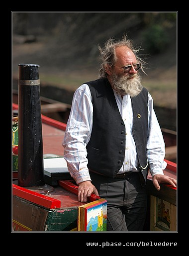 Canal Barge Keeper, Black Country Museum