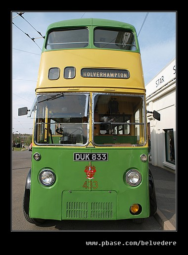 Sunbeam Electric Trolleybus #2, Black Country Museum