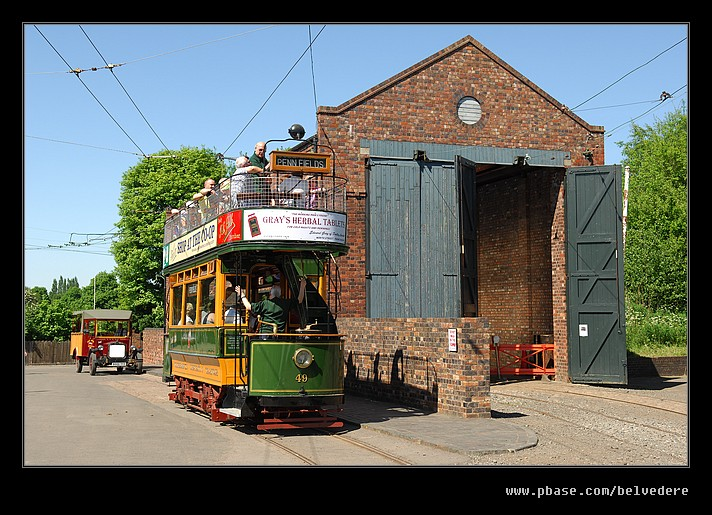 Open Top Tram, Black Country Museum