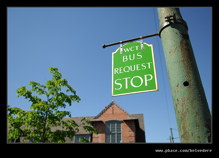 On Request Bus Stop, Black Country Museum
