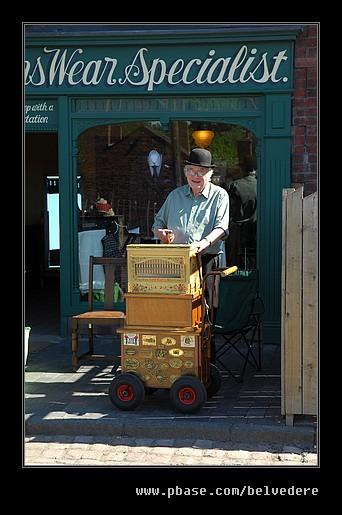 Organ Grinder, Black Country Museum