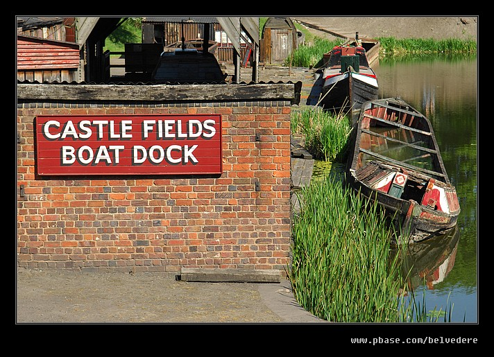 Castle Fields Boat Dock, Black Country Museum