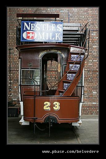 Tram #23, Black Country Museum