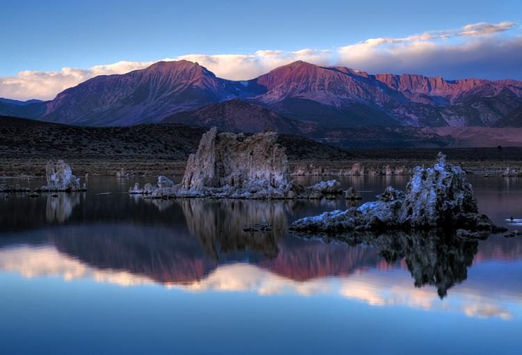 Alpine Glow at Mono Lake - HDR Version