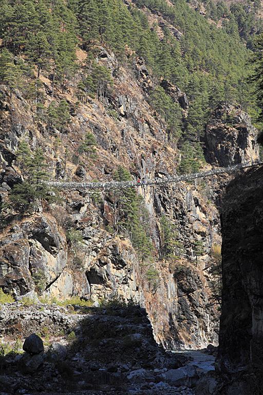 Bridge over the Dudh Koshi