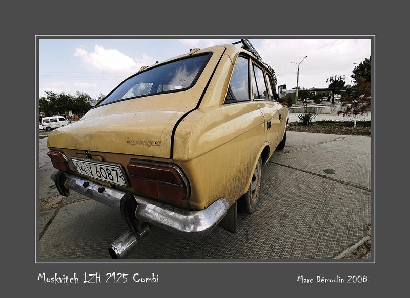 IZH 2125 Combi Samarqand - Uzbekistan