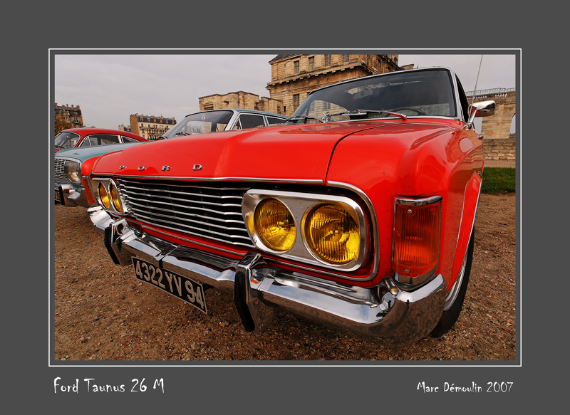FORD Taunus 26M Vincennes - France