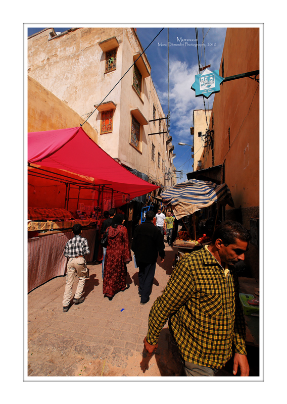 Moroccan souks and medinas 11