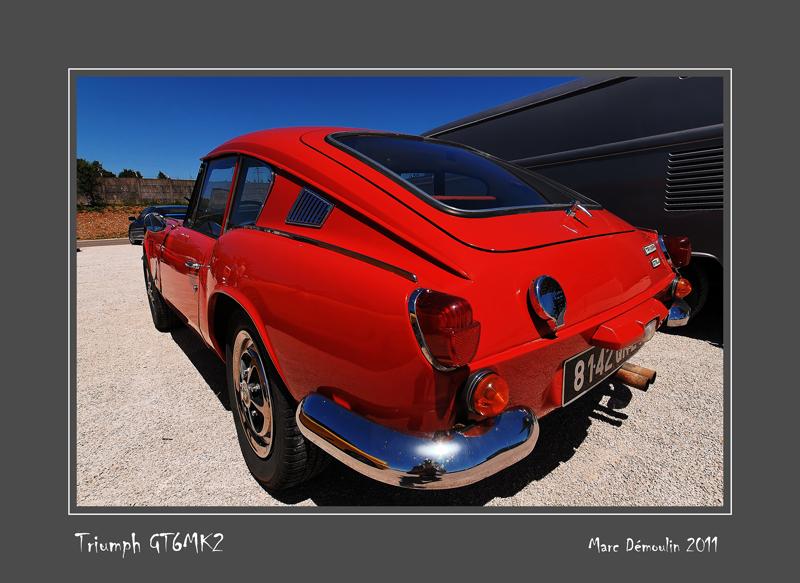 TRIUMPH GT6 MK2 Dijon - France
