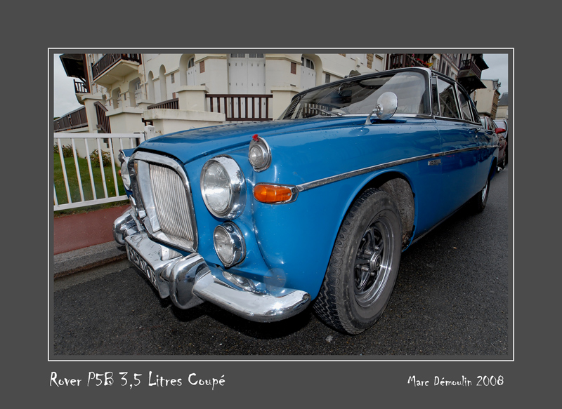ROVER P5B 3,5 l Coupe, Trouville - France