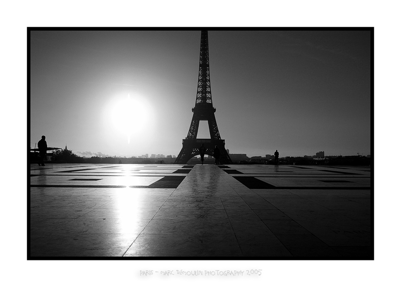 Eiffel tower from the Trocadero 1