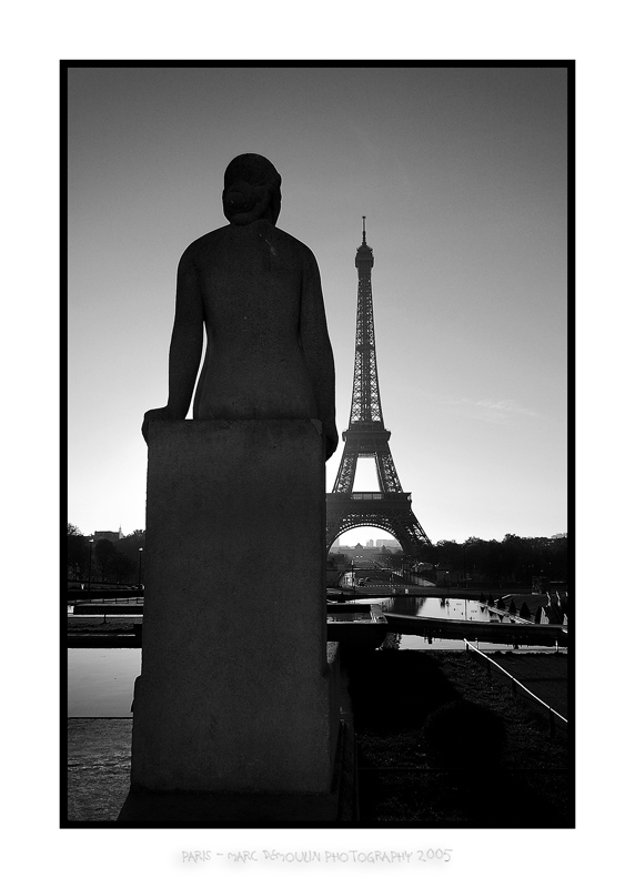 Eiffel tower from the Trocadero 2