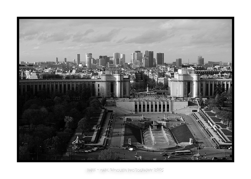 Trocadero and La Defense business city