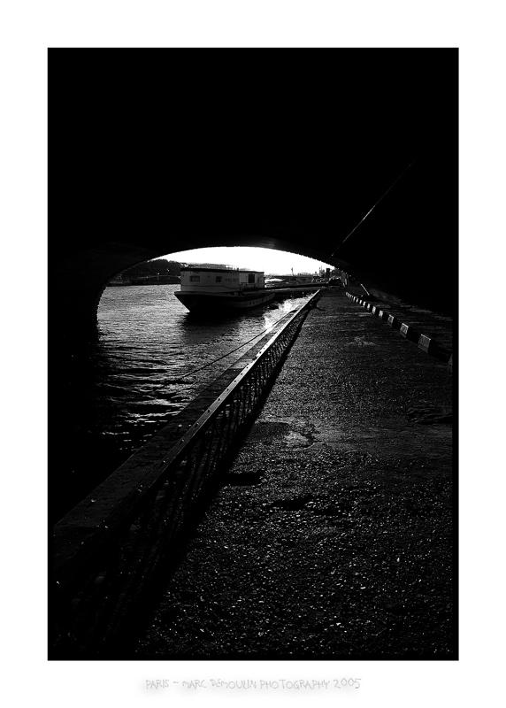 Under Bercys bridge