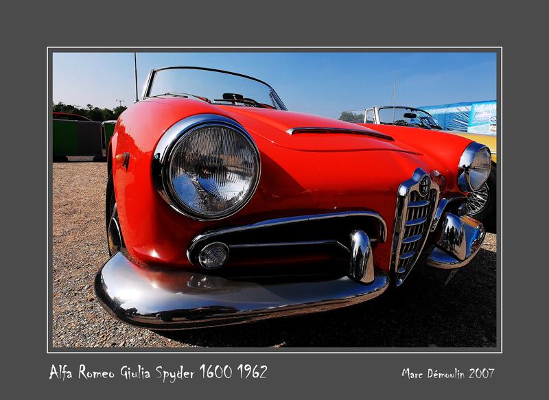 ALFA ROMEO Giulia Spyder 1600 1962 Vincennes - France