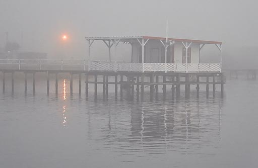 Fishing Pier In Fog 20081219