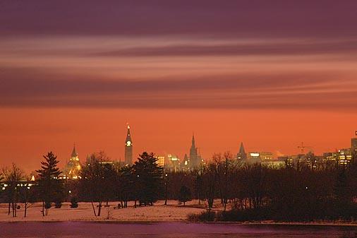 Ottawa At Sunrise 20091213