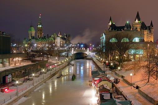 Rideau Canal Downtown 20100131