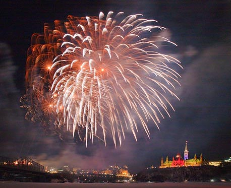 Winterlude 2010 Fireworks (20100205)