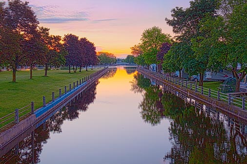 Rideau Canal At Dawn 20100524