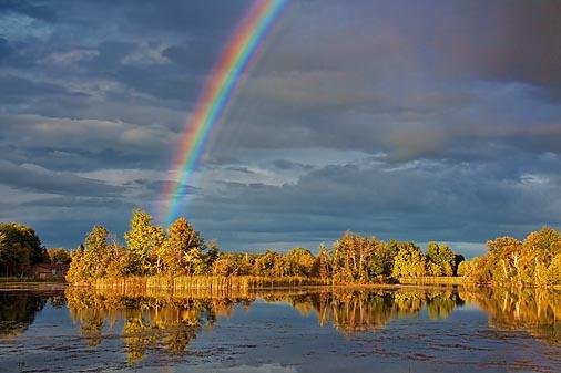Rideau Canal Rainbow 21259