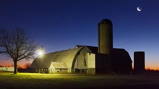 Barn At First Light 20101102